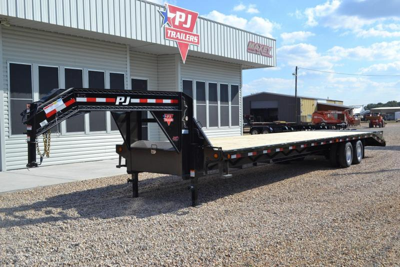$9,696, 2015 PJ Gooseneck Flatbed 102x36 Monster Rs