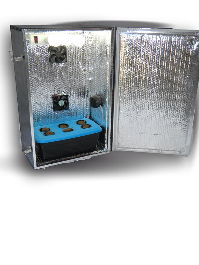 Hydroponic Grow Cabinets  Personal Indoor Grow Box
