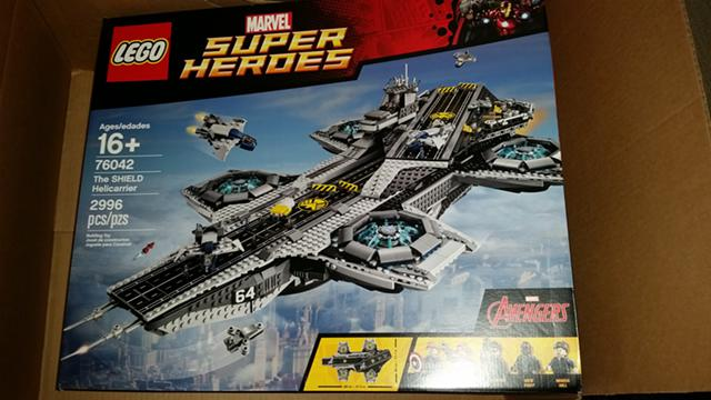280  Lego The Shield Helicarrier