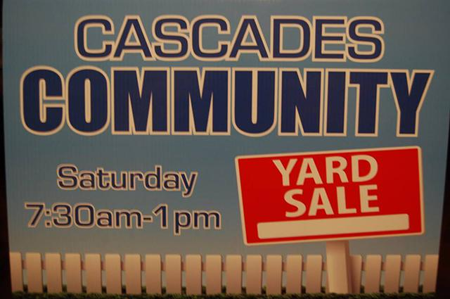 The Colony  Cascades Community Multi-Family Yard Sale- Sat  81
