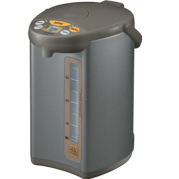 109  CD-WBC40-TS Micom 4-Liter Water Boiler Warmer  Silver Brown -  109 99 limited time offer