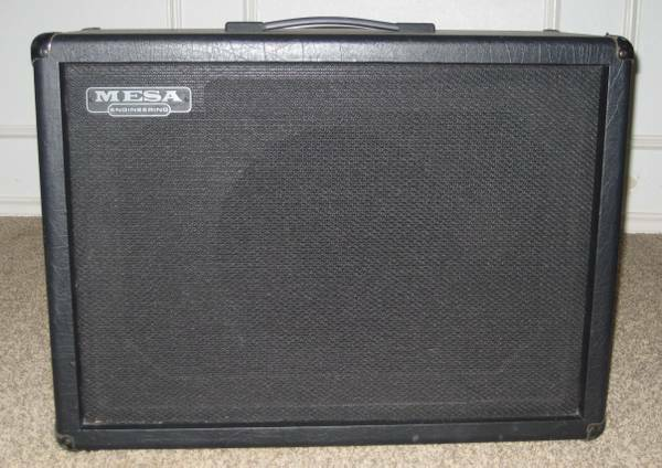Mesa Boogie 12 Cabinet wEV 8 ohm 200 Watt Black Shadow - $275 (Mead, OK)