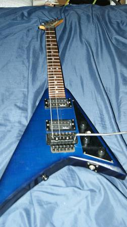 Rhandy Rhodes Flying V wFloyd Rose Tremolo - $150 (Denison, Tx)