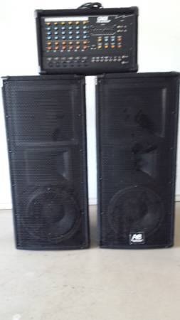 Audio Centron CE-17 Performance Speakers - $400 (Durant, Oklahoma)