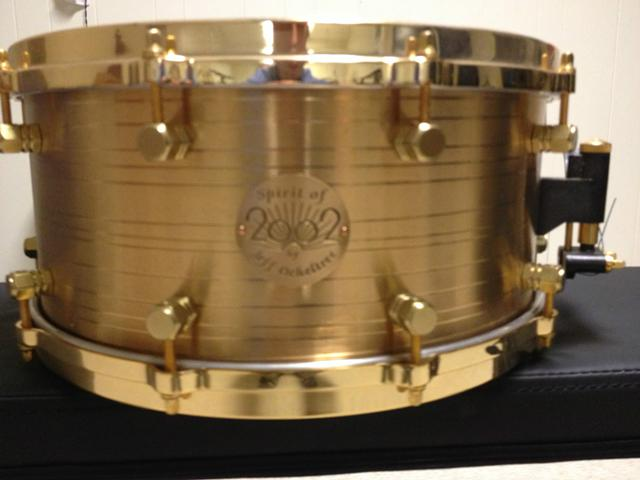 2002 Paiste Spirit Of 2002 Snare Drum - $1700