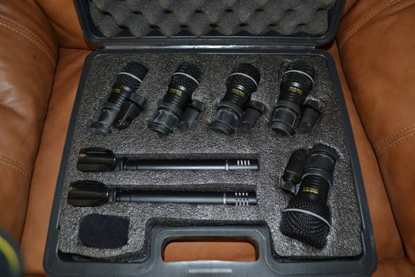 NADY 7-PIECE Drum Microphone Kit - $175 (Durant OK)