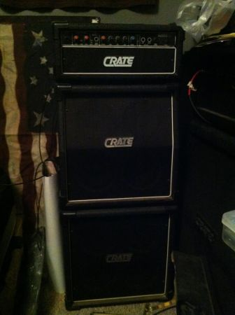 crate mini full stack guitar and head - $200 (madill ok)