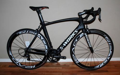 2012 Specialized S-works Venge Dura Ace Project Black 56cm road bike 15.1 pounds