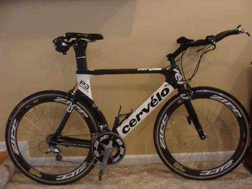 Cervelo p3 Full carbon Triathlon bike 58 durace $1500