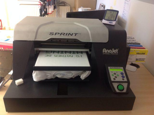 Anajet Sprint Direct to Garment Printer DTG model SP-200 $2400