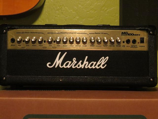 Marshall MG100HDFX Head