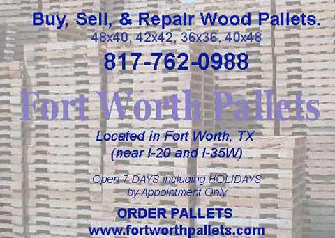 2  WANTEd Wood Pallets Size 48x40
