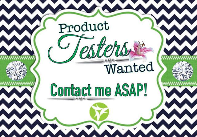 Product testers needed