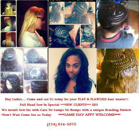 QUICK WEAVES BOX BRAIDS SEW IN PONYTAILS (CARROLLTON)