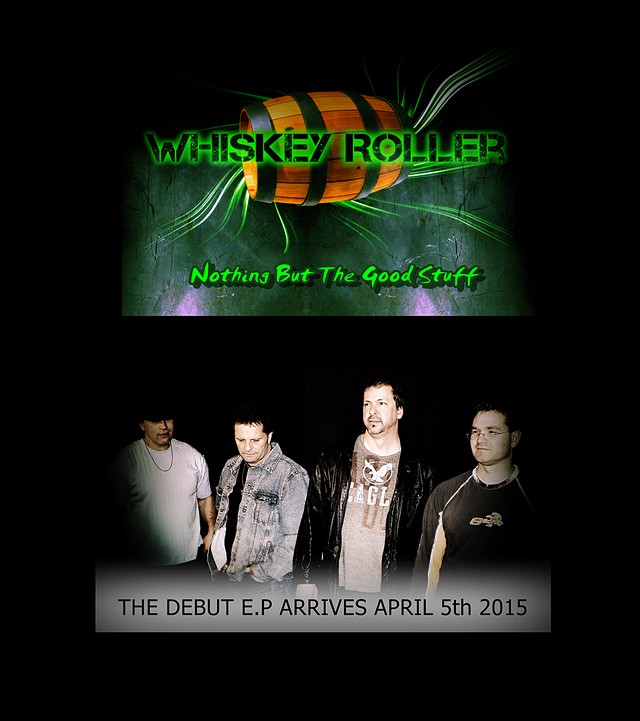 Debut EP By Canadian East Coast Retro Rockers  Whiskey Roller