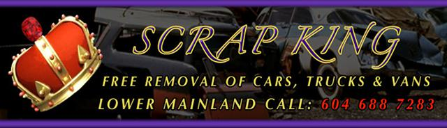 WE PAY CASH FOR SCRAP CARS  CASH FOR TRUCKS 604-688-7283 Free Towing For All Junk Cars Today