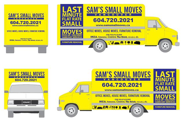 Furniture Deliveries Small Pick-Ups Storage Units Moves Student New Immigrant Small Moves
