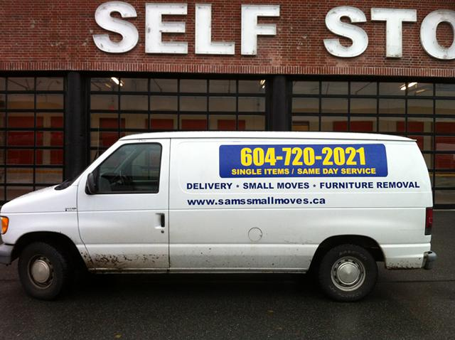 Furniture Taxi - Delivery, Small Moves -Junk Removal - East Vancouver Mover, Man and Truck