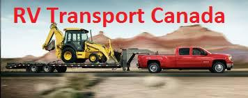 RV Transport Canada Boat Hauling Flat Deck Service  Best Long Distance Transport Service In Canada
