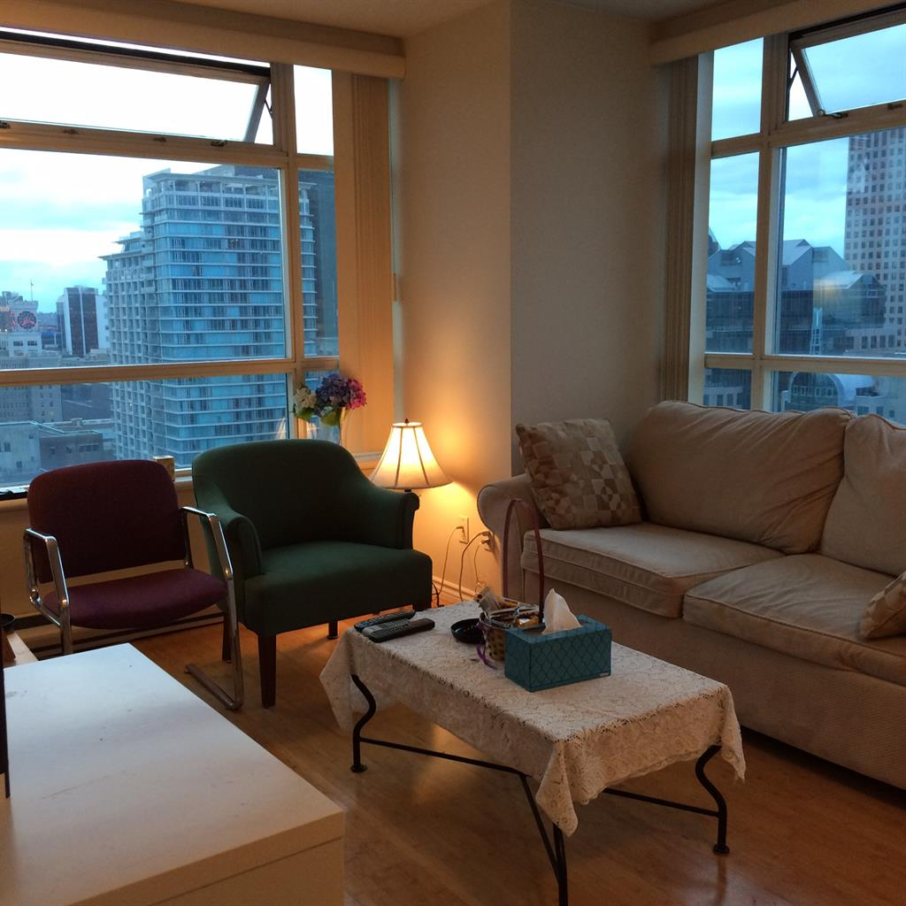 600  1br  Seymour St  Vancouver - 1 bedroom Shared for Rent -BC