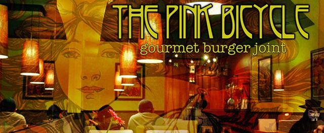 The Pink Bicycle Gourmet Burger Joint - 1008 Blanshard St Victoria  BC V8W - Ph 250 384-1008