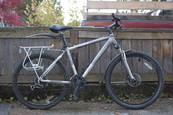 Trek 4300 - Mechanical Disc Brakes Axiom rack, etc. - $150 (Fernwood)