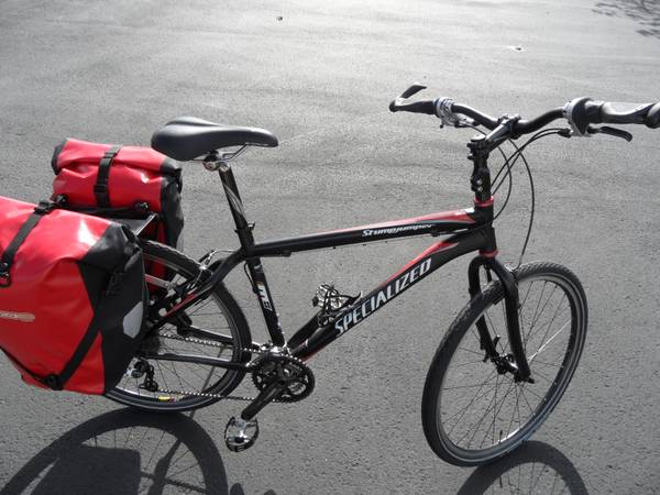 Touring Bike with Ortlieb Panniers - $535 (Sequim, WA)