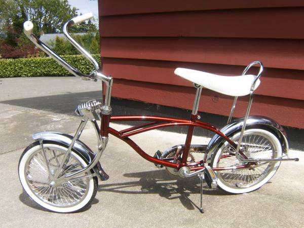 Lowrider Cruiser Bike - $250 (Chemainus)