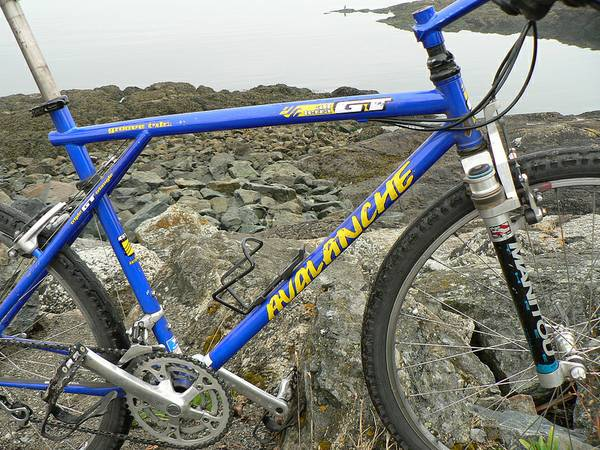Retro GT Avalanche Mountain Bike - $120 (RocklandOak Bay)