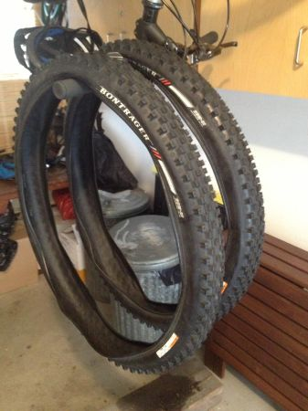Mountain bike tires - $15 (Victoria)