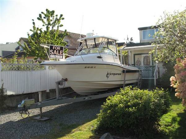 2005 Seaswirl Striper 2301 - $37500 (Chemainus, B.C.)