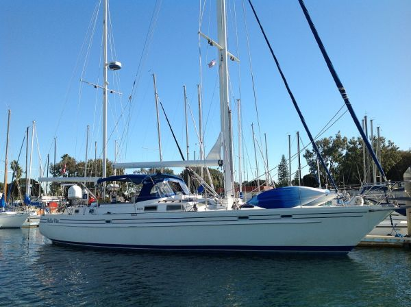 Pearson 53 sailboat with liveaboard slip - $198000 (cruising)