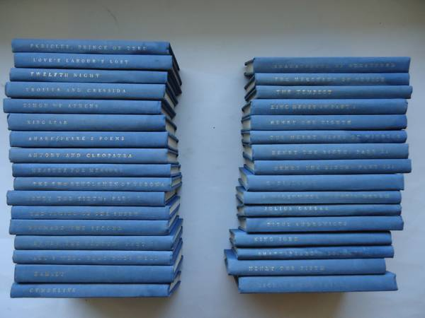 THE YALE SHAKESPEARE 33 VOLUMES -   x0024 99  SANNICH