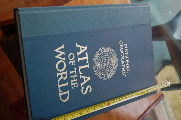 National Geographic World Atlas - oversize -   x0024 25  Langford  BC
