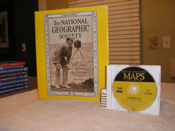 National Geographic 100 Years Anniversary Edition and Maps Special Edi - $40 (Langford)