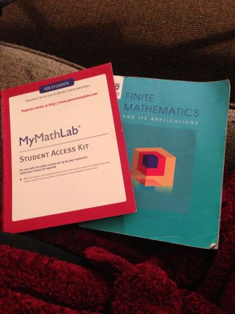 FINITE MATHEMATICS and its Applications text w ACCESS CODE Math 109 - $60 (Saanich)
