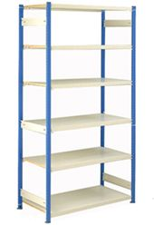 E-Z-Rect Retail or Light Warehouse Shelving, Like New - $500 (Victoria)
