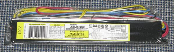Fluorescent Ballast 4 Foot 2 Tube T12 -   x0024 10  View Royal