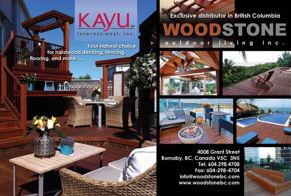quality KAYU International  hard wood deck lumber   British Columbia