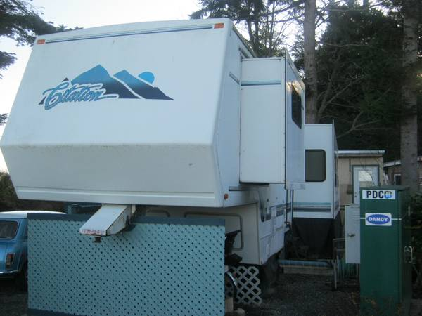 1997 35 CITATION 5TH WHEEL TRAILER - $7000 (SAANICHTON)