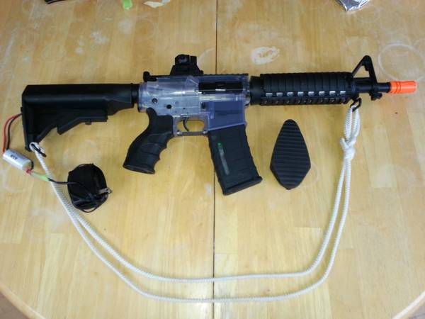 Airsoft AEG Aftermath Knight CQB 380fps Full Auto - $130 (parksville)