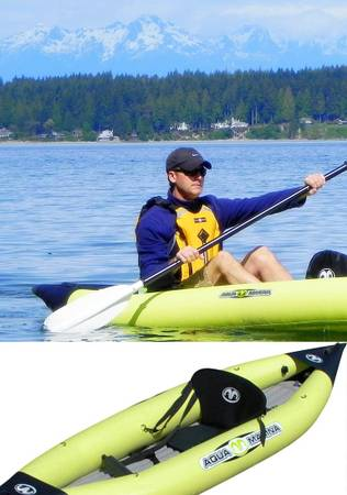 Inflatable Kayak by Aqua Marina K1 - $499 (Saanich)
