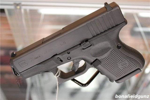 550  Glock 26 9mm Luger 9x19 Para