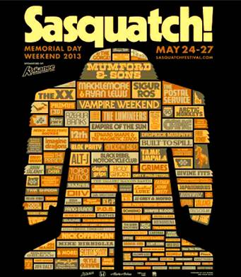 Sasquatch Music Festival - 2 Tickets Available - $500 (Uvic)