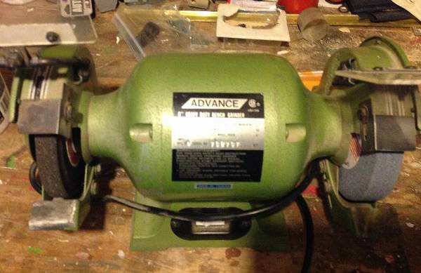 Advance 6  Bench Grinder -   x0024 60  oak bay