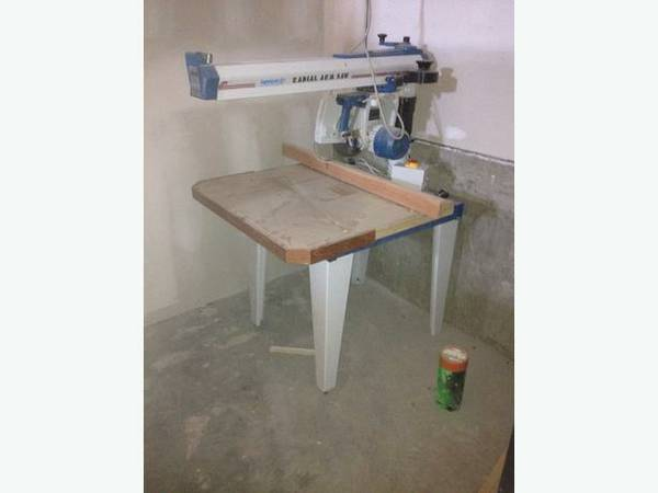 Omga RN600 Radial Arm Saw with stand -   x0024 1900  Langford