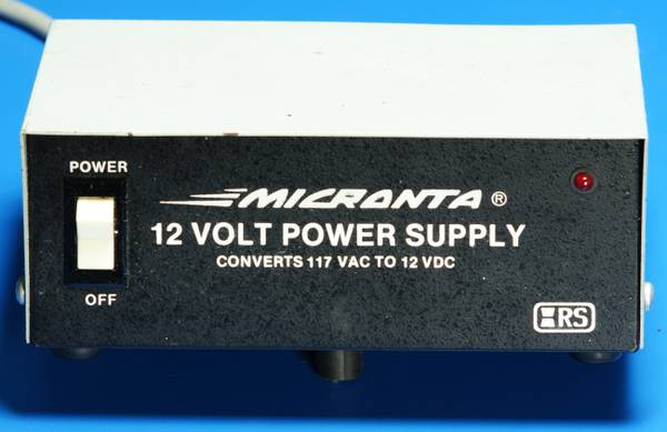 Micronta 12 Volt Power Supply - $20