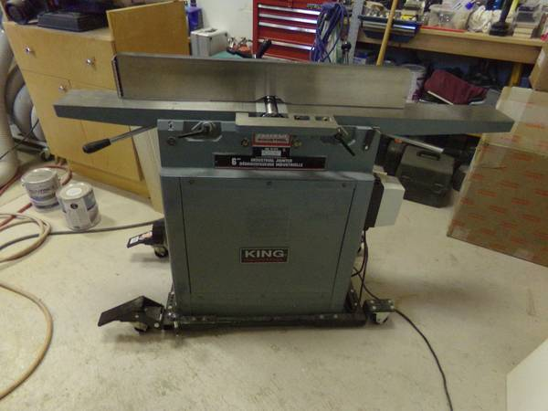 King Industrial 6  Parallelogram Jointer  -   x0024 550  Courtenay