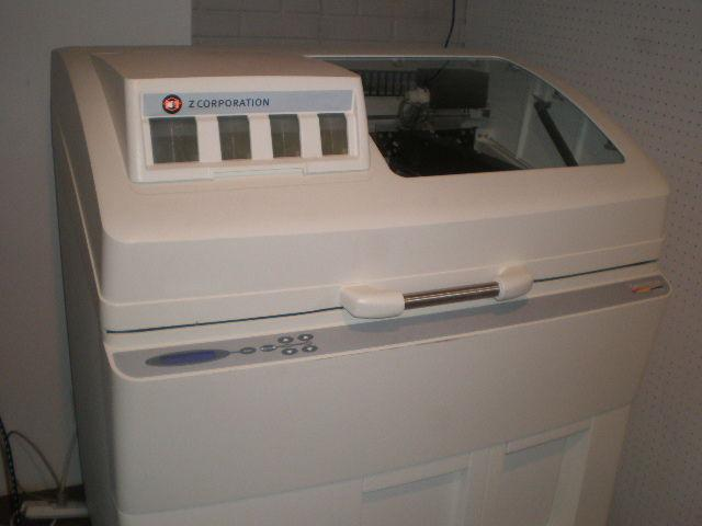 3 600  Z Corporation Spectrum Z510 3D Full Color Inkjet Printer