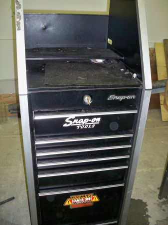 Snap On Cabinet - $600 (Mill Bay)